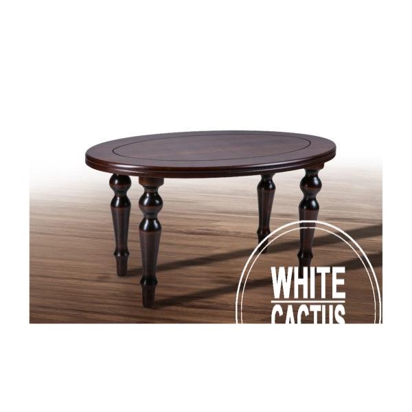 .стол Капри орех. 600x600 - Стол Капри