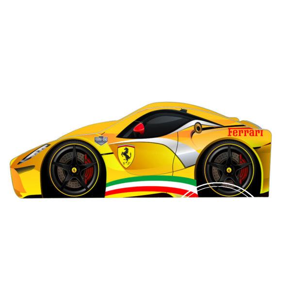 Ferrari B 021 ZHovta 2 600x600 - Кровать детская автомобиль серия Бренд