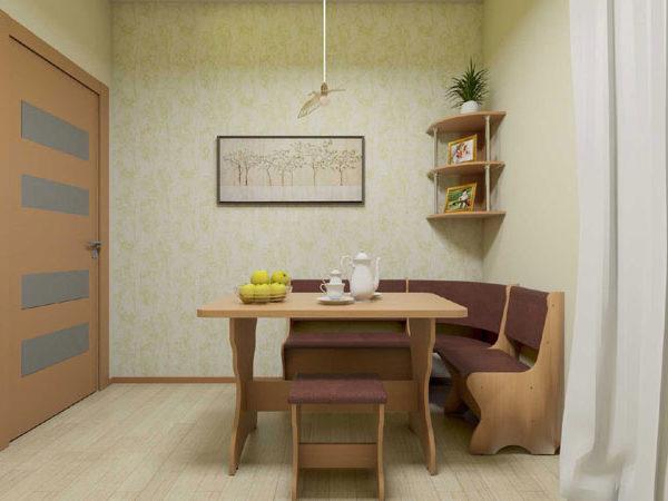 KS 2 Komplekt 600x450 - Стол кухонный КС 2