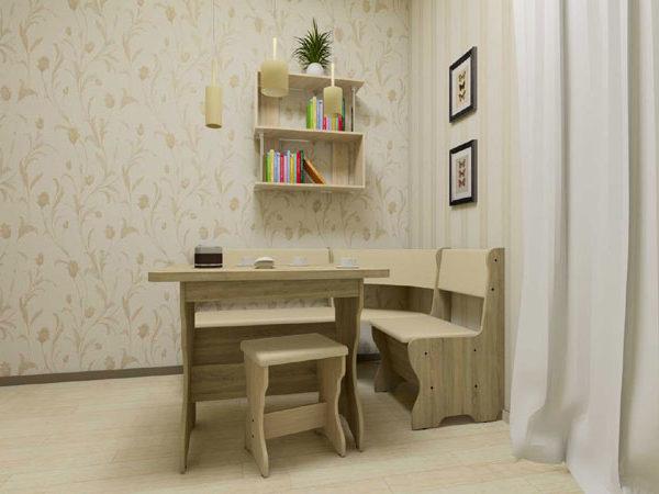 KS 3 Komplekt 600x450 - Стол кухонный КС 3