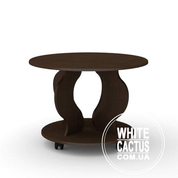 RingMDF Venge 600x600 - Стол журнальный Ринг МДФ