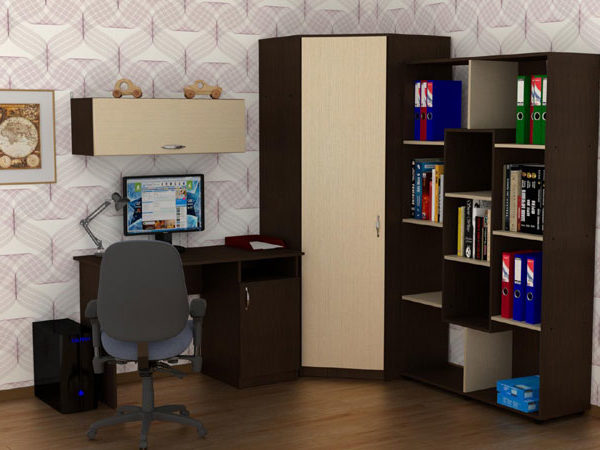 Uchenik Komplekt2 600x450 - Стол письменный Ученик