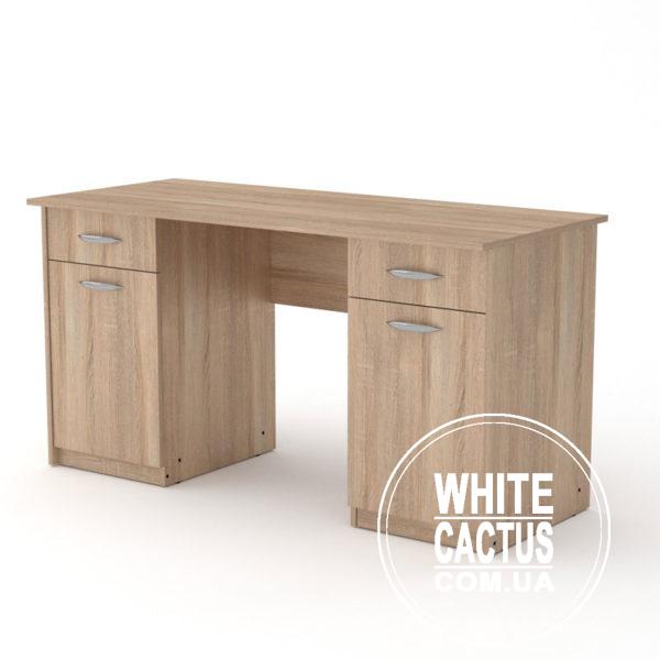 Uchitel 2 Sonoma 600x600 - Стол письменный Учитель 2
