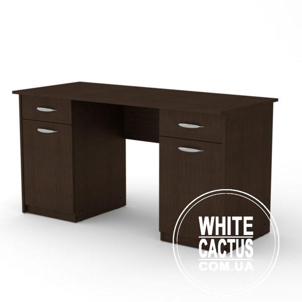 Uchitel 2 Venge 600x600 - Стол письменный Учитель 2