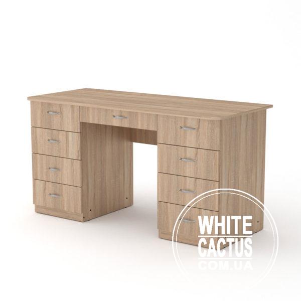 Uchitel 3 Sonoma 600x600 - Стол письменный Учитель  3