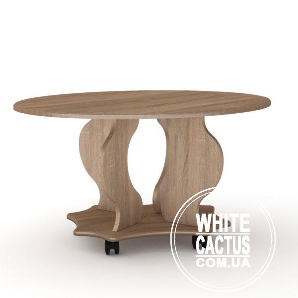 VenetsiyaMDF Sonoma 600x600 - Стол журнальный Венеция МДФ