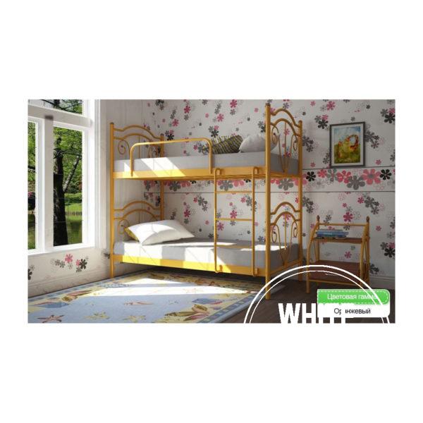 dia orange 600x600 - Кровать Диана двухярусная