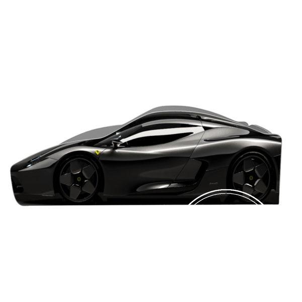 ferrari chornyj 600x600 - Кровать детская автомобиль серия Бренд