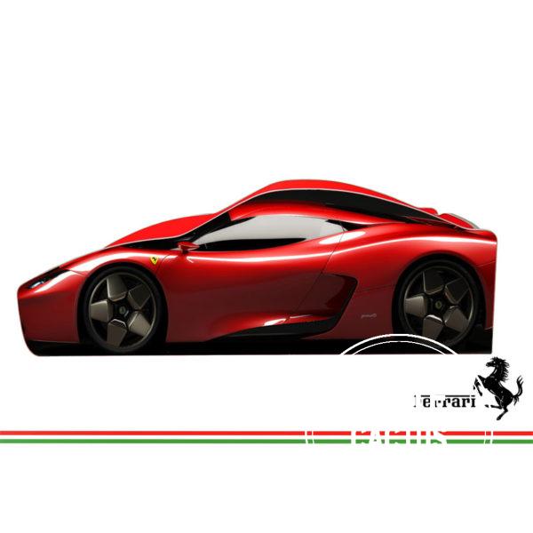ferrari krasnyj 600x600 - Кровать детская автомобиль серия Бренд