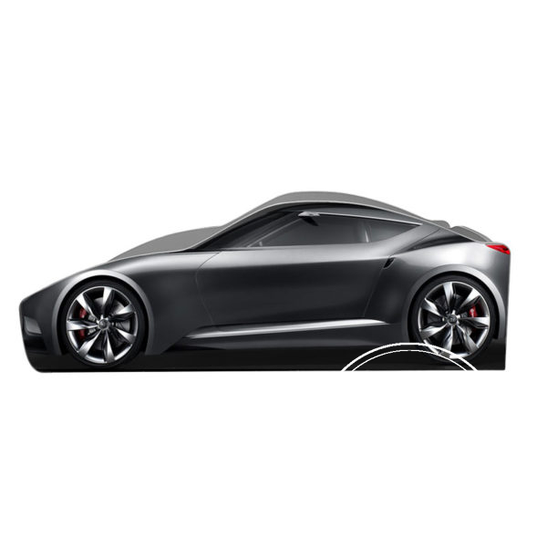 hundaj 600x600 - Кровать детская автомобиль серия Бренд