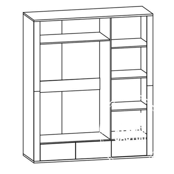 shema 3d 1 600x600 - Шкаф Гресс 3Д3Ш